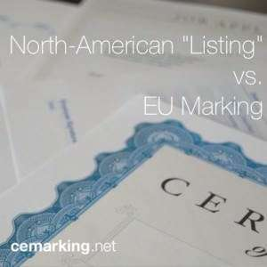 Listing vs Marking
